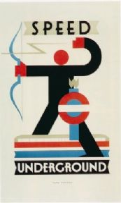 Vintage London underground poster - Speed